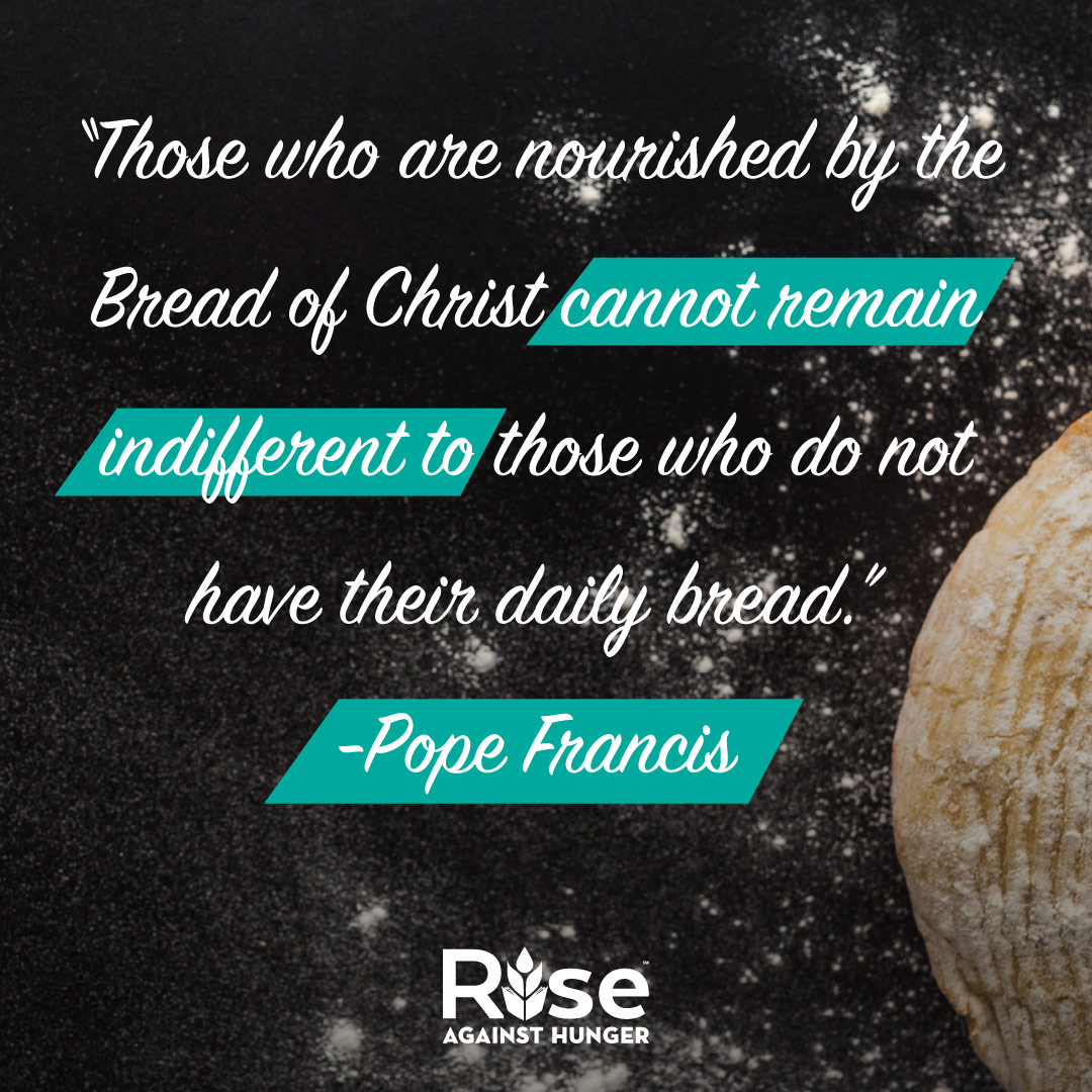 Pope Francis Bread Quote